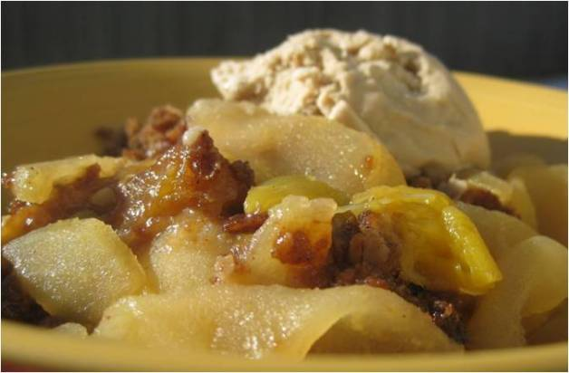 Apple Guava Crisp